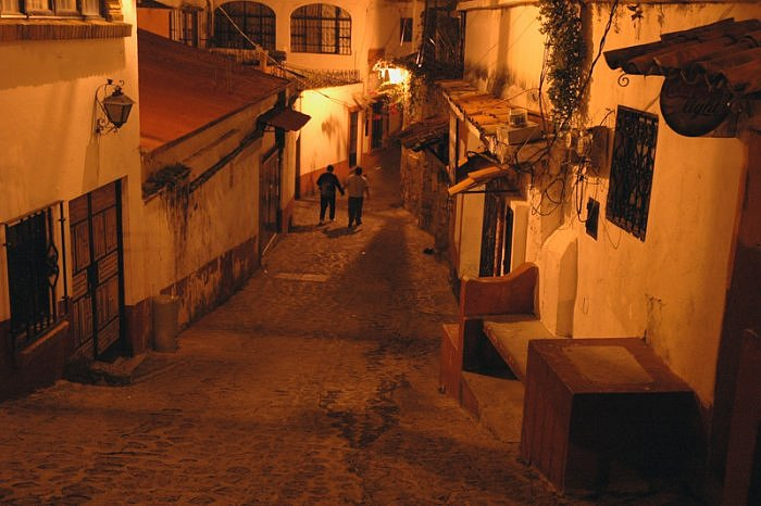 Taxco by night