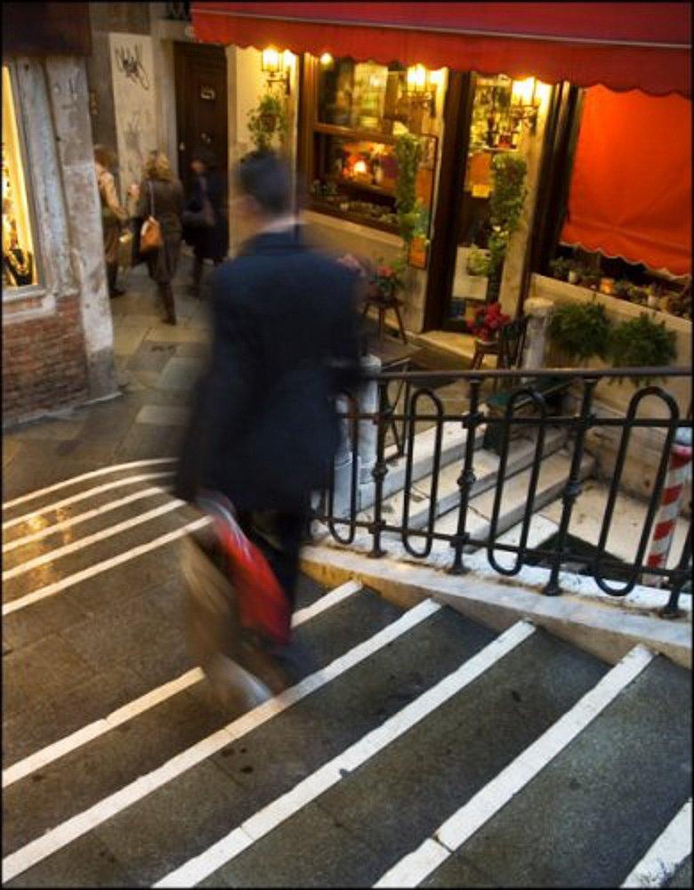 Escalier vénitien