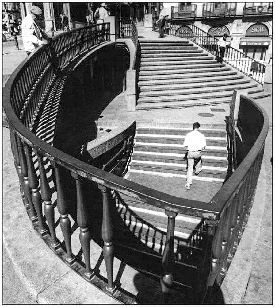 Escalier portugais