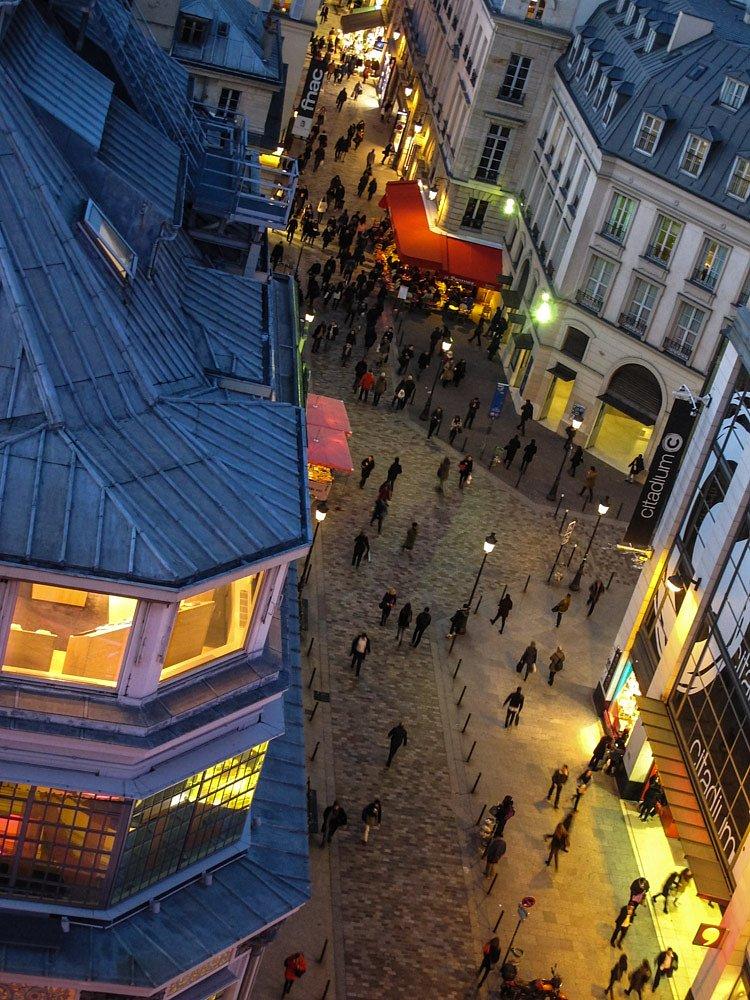 Petite rue de Paris